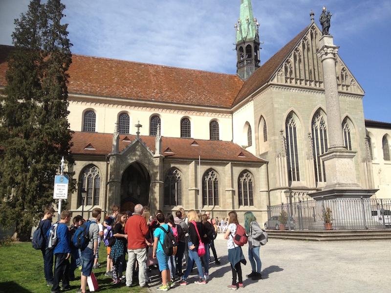 Kletterausrüstung Konstanz : Stufenfahrt der klassen nach konstanz integrierte