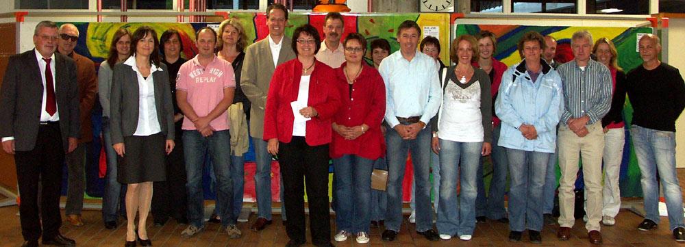 Gründungsversammlung des Fördervereins am 4. Juni 2009