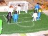 Fußballspiel bei Trickfilm