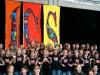 Kinder singen auf der Einweihungsfeier