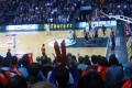 Spielszene Basketballspiel der TBB Trier gegen Ludwigsburg