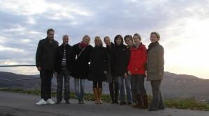 Schwedische und deutsche Kollegen auf der Marienburg