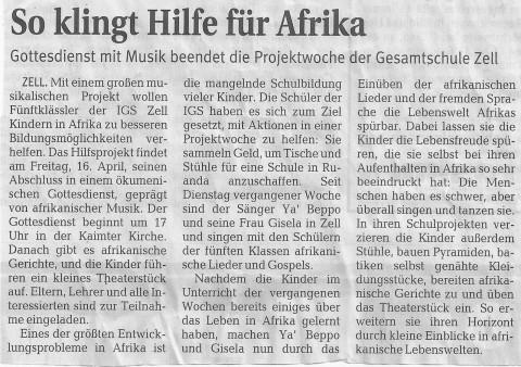 2010 Presse Afrika