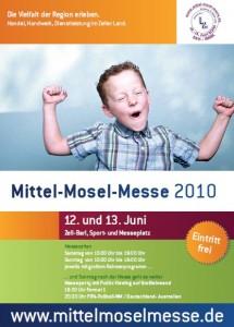 Plakat Mittel-Mosel-Messe