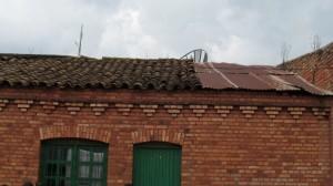 Das schadhafte Dach muss repariert werden
