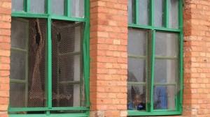 Hier müssen neue Fenster eingebaut werden