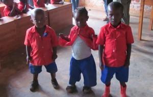 Die kleinsten Schüler unserer Partnerschule