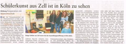Zeitungsbericht Ausstellung Köln10122013_0001