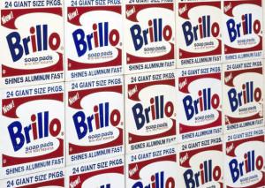 Warhol, Andy, White Brillo Boxes, Siebdruck, Holz, 1964 (Köln, Museum Ludwig, ML 01448.  (Foto: © Rheinisches Bildarchiv Köln, rba_c005201)
