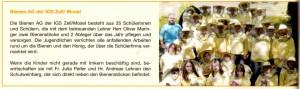 Bienen AG im Umweltjournal