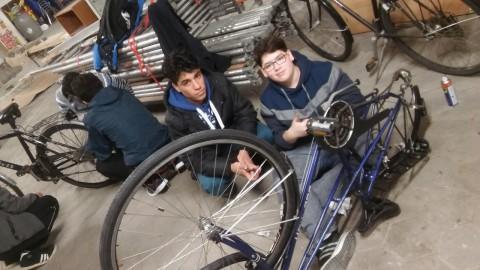 projekt fahrradwerkstatt